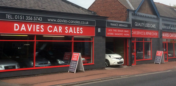 Davies Car Sales Showroom